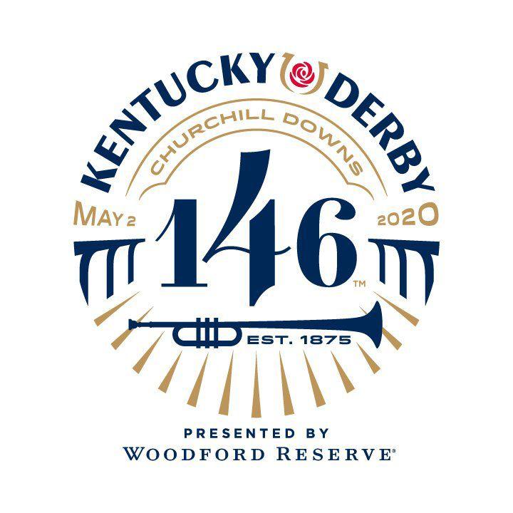 Official logo for Kentucky Derby 146