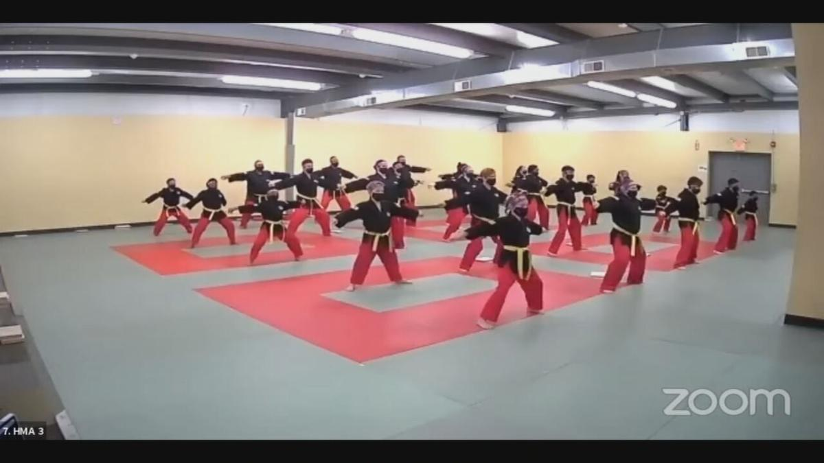 Louisville martials arts school hosts international competition online