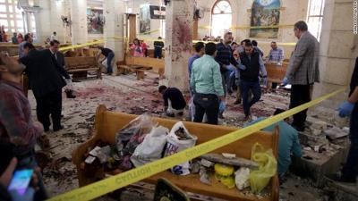 ISIS claims responsibility for Egypt's Palm Sunday church bombings