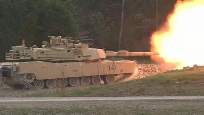 Ohio National Guard tank training at Fort Knox 4-15-19