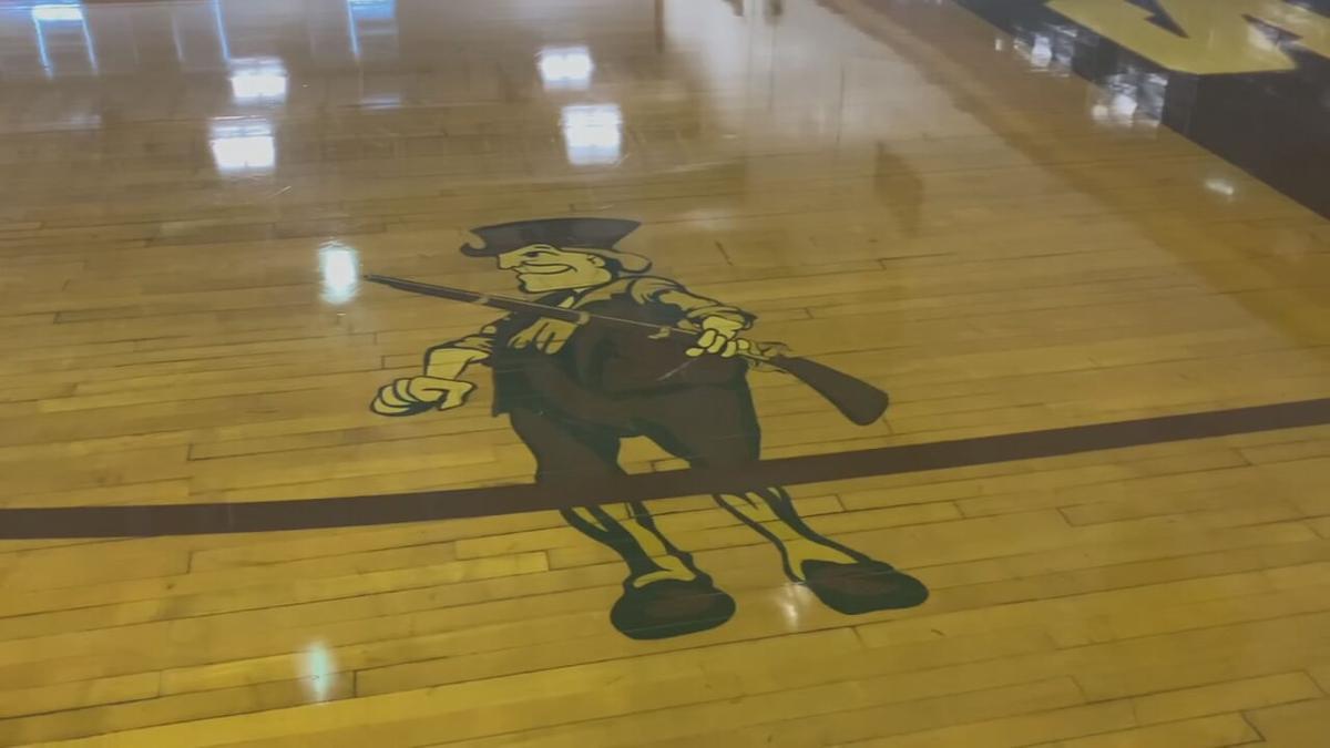 Atherton High School 'Rebel' mascot