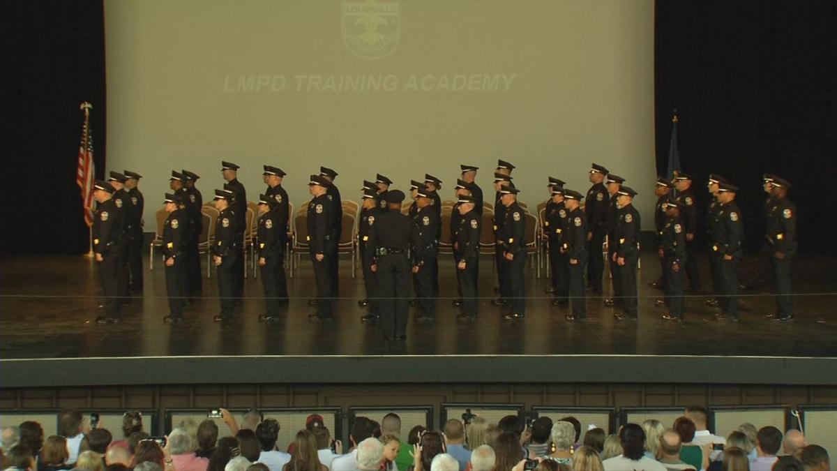 Last LMPD graduating class stands together