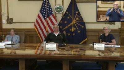 Gov. Eric Holcomb COVID-19 press conference