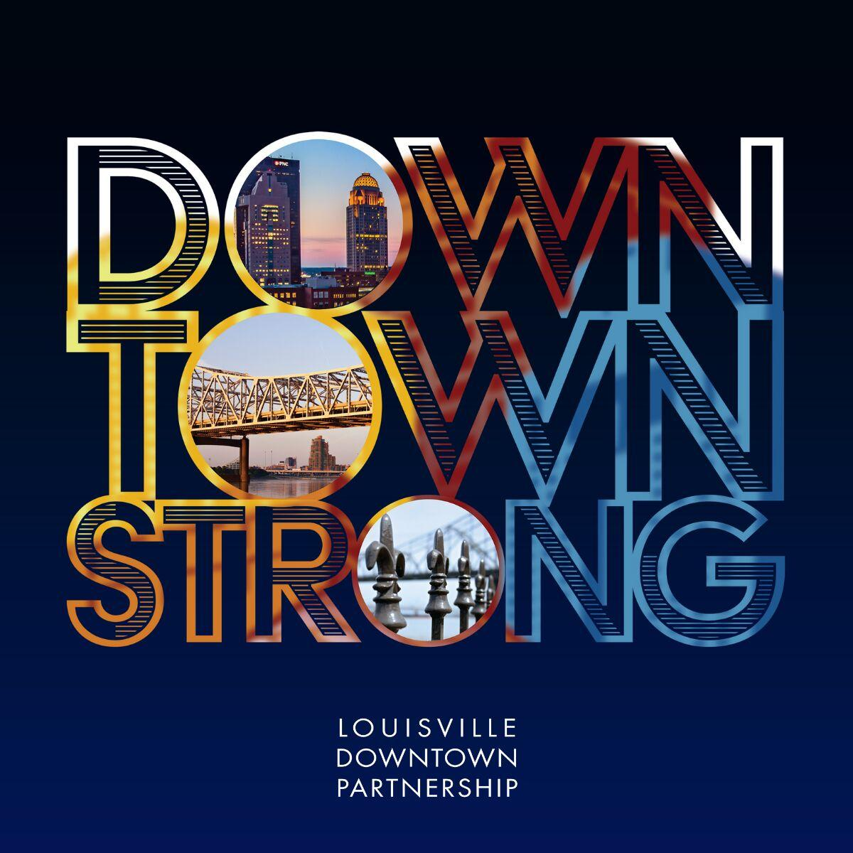 Downtown Strong campaign flyer
