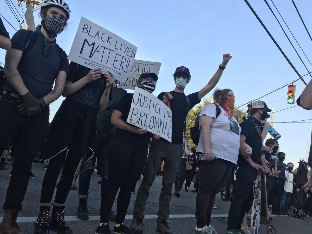 5-30-20 Protests on Bardstown Road