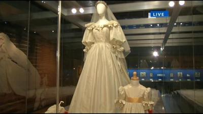 The life of Princess Diana at the Frazier History Museum