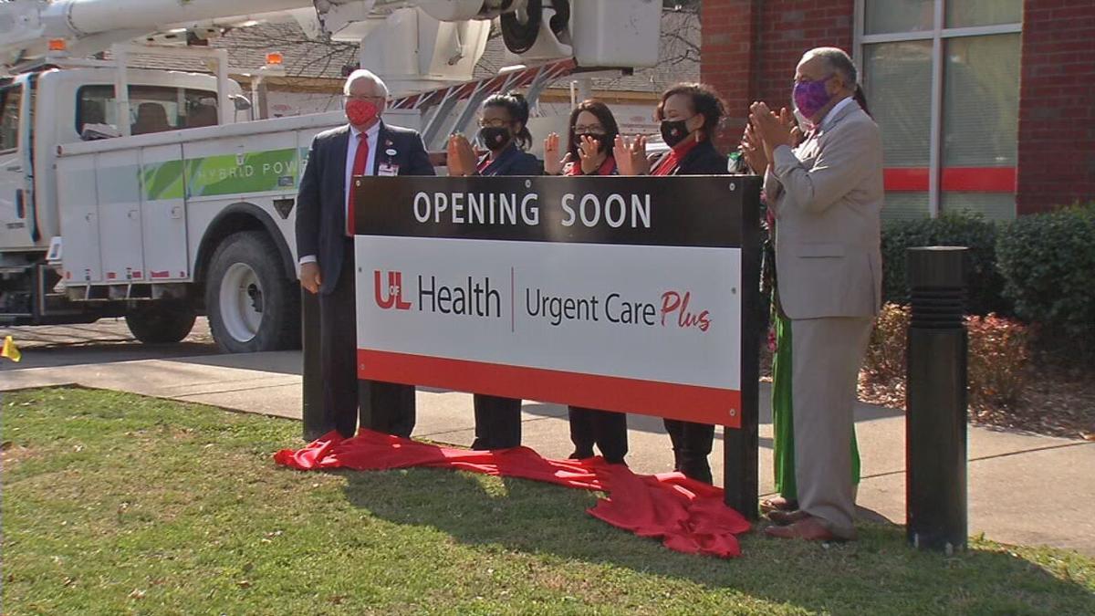 UofL Health urgent care center in Parkland neighborhood