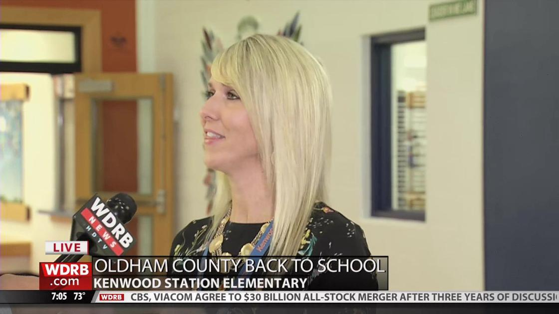 The principal of Kenwood Elementary talks about the upcoming
