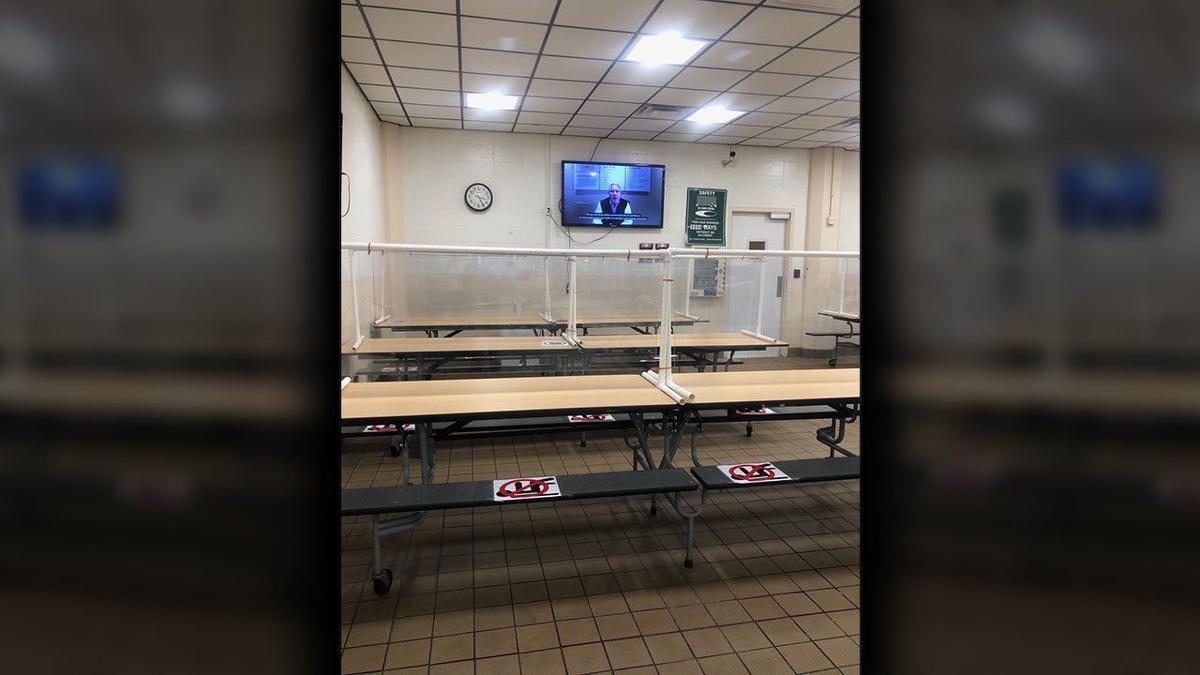 JBS Plant cafeteria