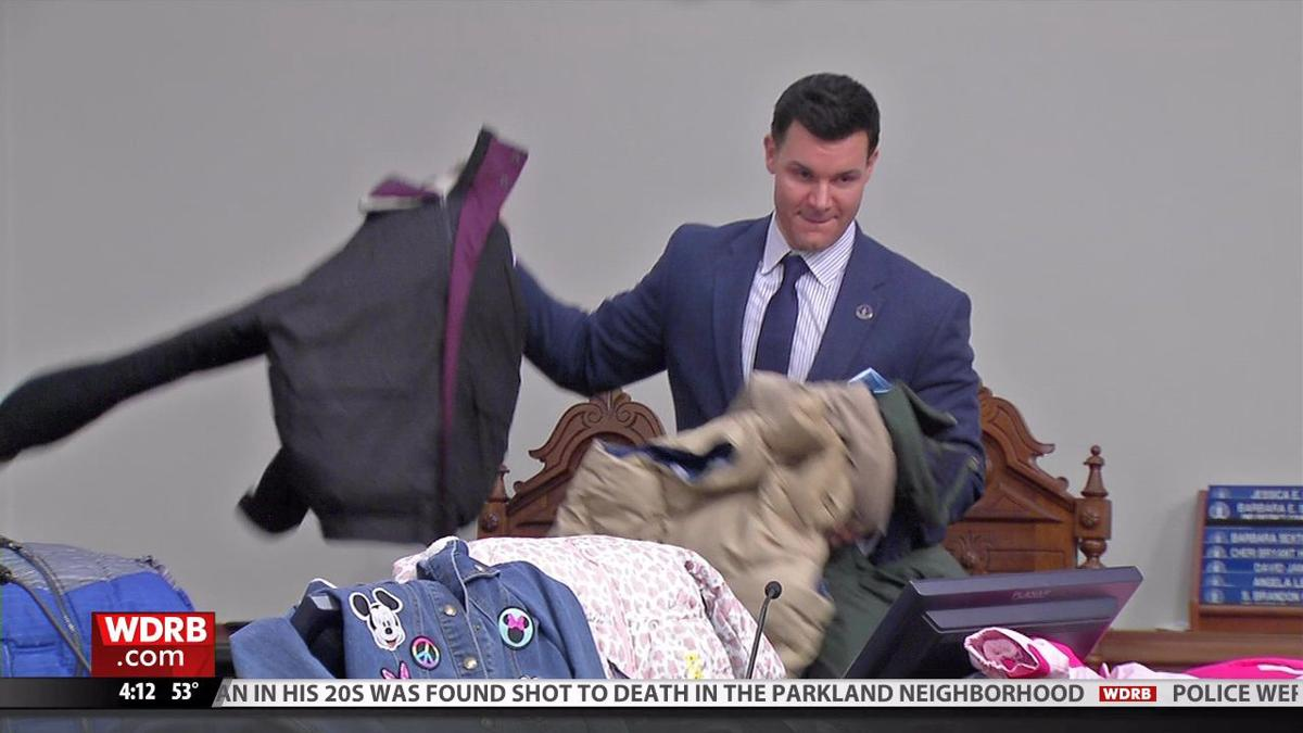 Louisville Metro Council collects dozens of new coats for children in need