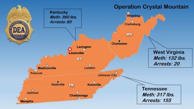 Crystal Mountain Meth Map