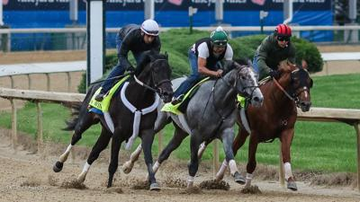 Churchill Downs training