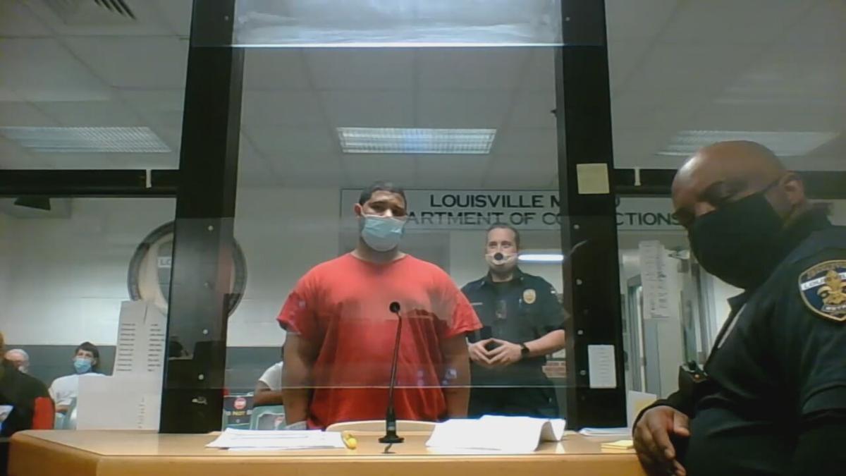 Stephen Lovingood in court on Jan. 14, 2021
