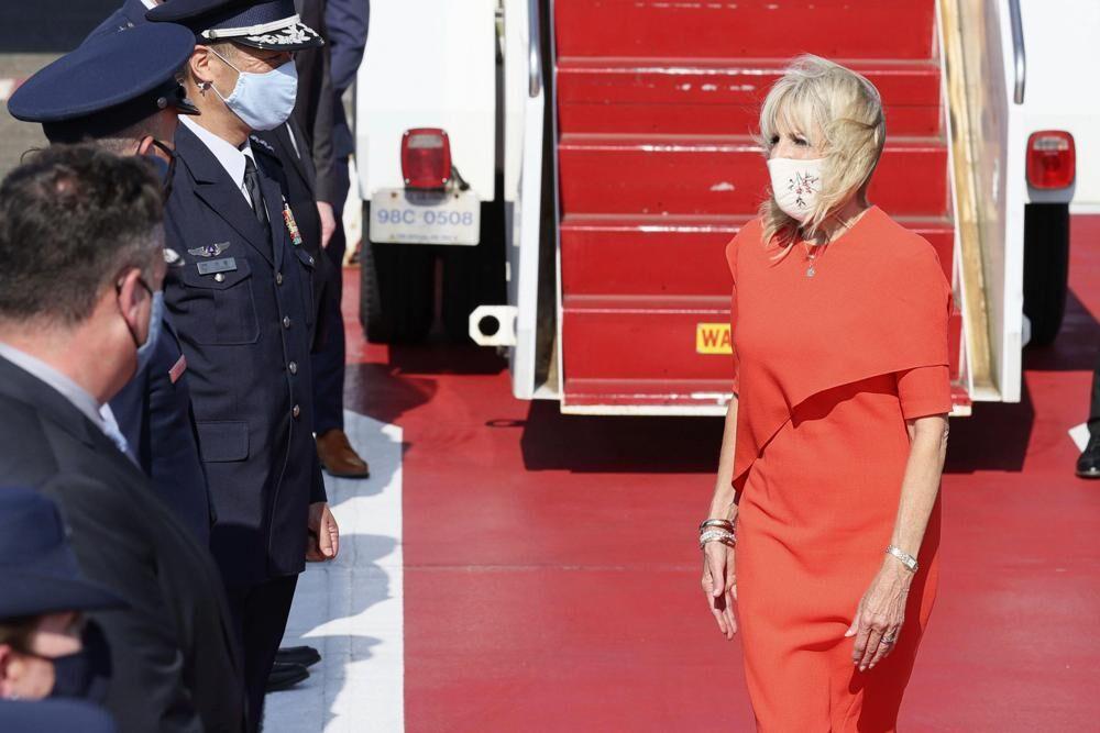 Jill Biden arrives in Tokyo