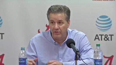 John Calipari post Alabama loss