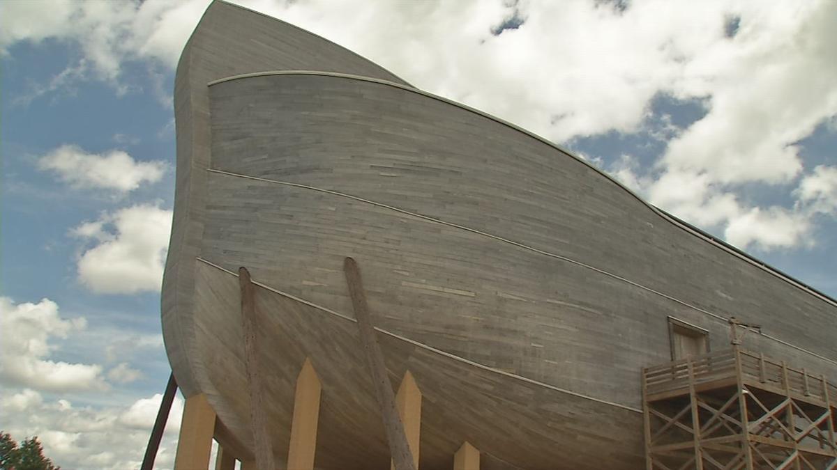 Ark Encounter (exterior) in Williamstown, Kentucky