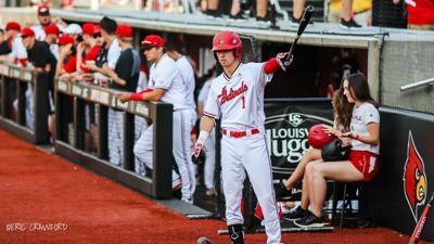 Crawford Once Again Louisville Baseballs Road To Omaha Will Be
