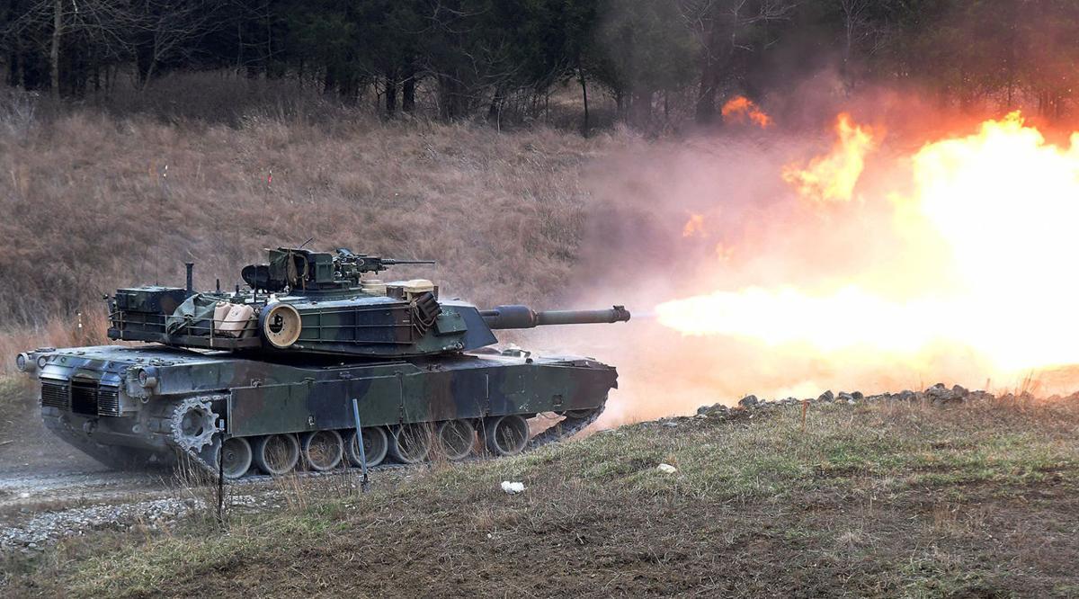 Fort Knox tank firing