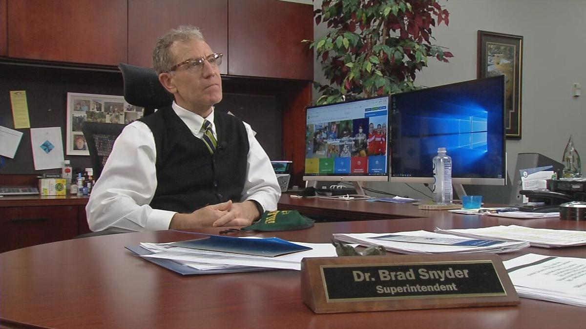New Albany Floyd County School Corporation Superintendent Dr. Brad Snyder