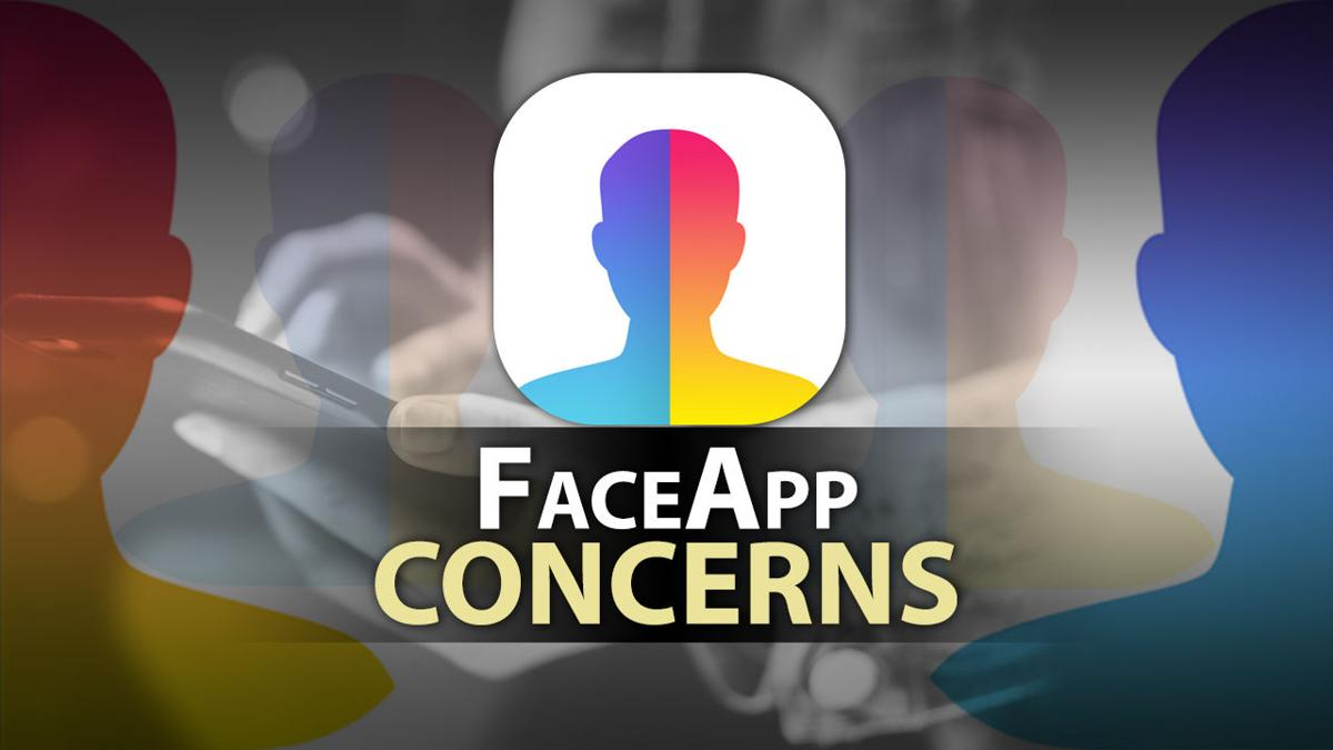 FaceApp concerns graphic