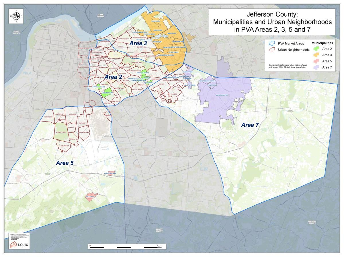 PVA reassessment areas 2021