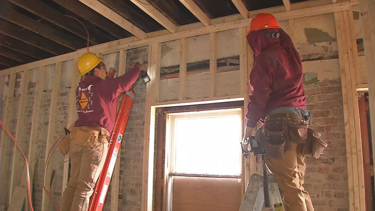 YouthBuild nearly finished with $2 million expansion in the Smoketown neighborhood