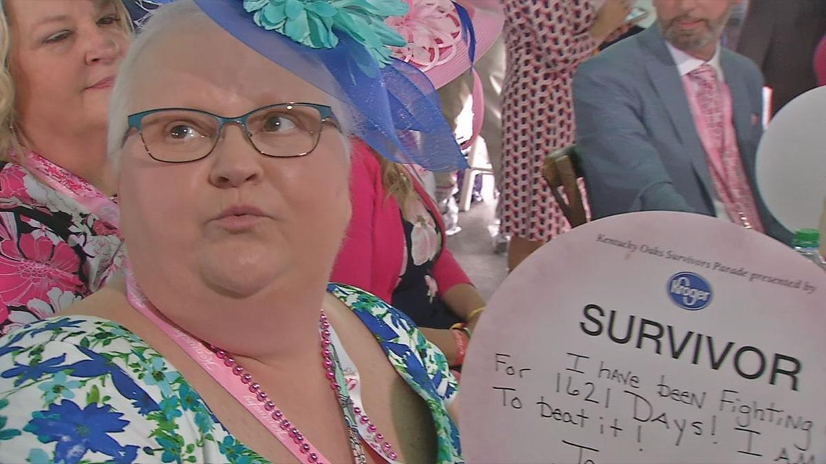 d5fb4692acba8 Parade honors breast and ovarian cancer survivors at Kentucky Oaks ...