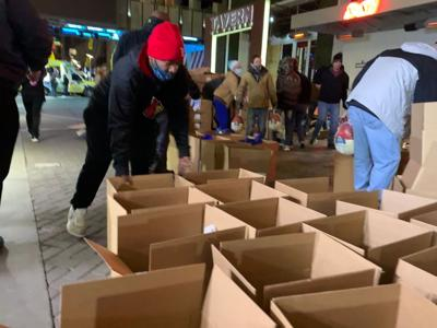It's the 10th year of helping area families with Boxes of Love