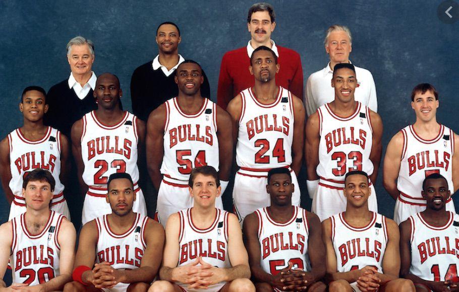 Michael Jordan, Will Vanderbilt, Dennis