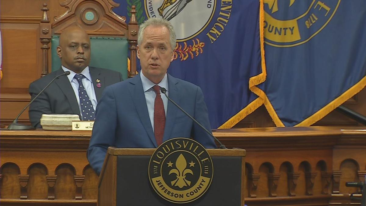Louisville Mayor Greg Fischer, June 2019