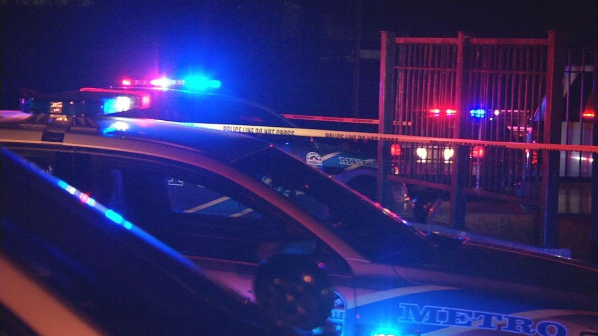 LMPD cars at crime scene (generic)