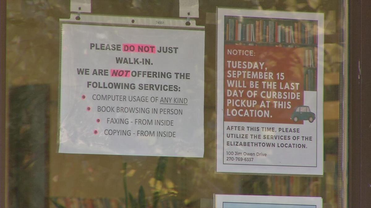 hardin County library closing