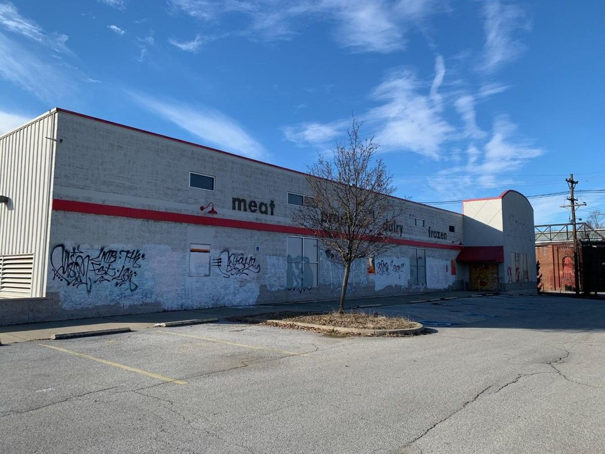 Old Save A Lot grocery store at 1311 S. Shelby St.
