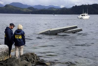 Mother, newlyweds among 6 killed after Alaska planes crash