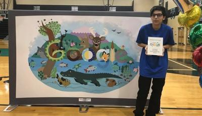 Vote to help North Oldham HS student win the Google Doodle contest