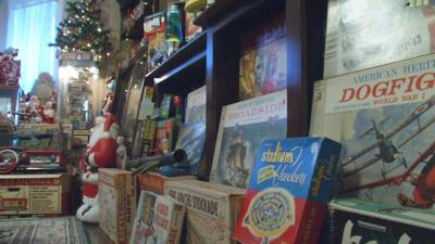 Southern Indiana couple's toy collection fills home