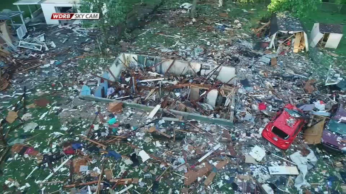 Jeffersonville House Explosion Drone CU - 5-20-19