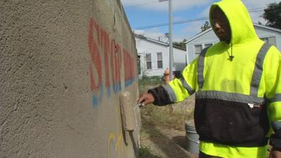 Louisville Metro Graffiti team has handled more than 1,000 cases since last summer