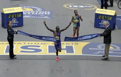 Lawrence Cherono wins 2019 Boston Marathon via AP