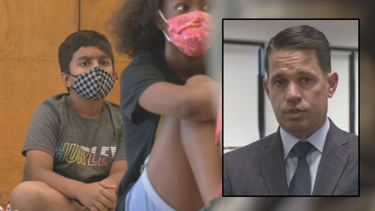 JCPS Superintendent Dr. Marty Pollio on student masking
