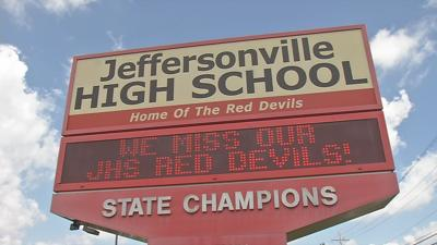 Jeffersonville High School starts new year online, district goes in person next week