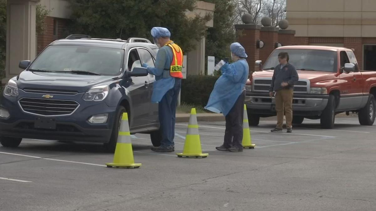 Drive Thru Covid 19 Testing For Indiana Front Line Workers Begins Monday At Ivy Tech In Sellersburg Coronavirus Wdrb Com
