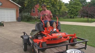 Mower, weed eater donated to Bardstown teen who had lawn equipment stolen