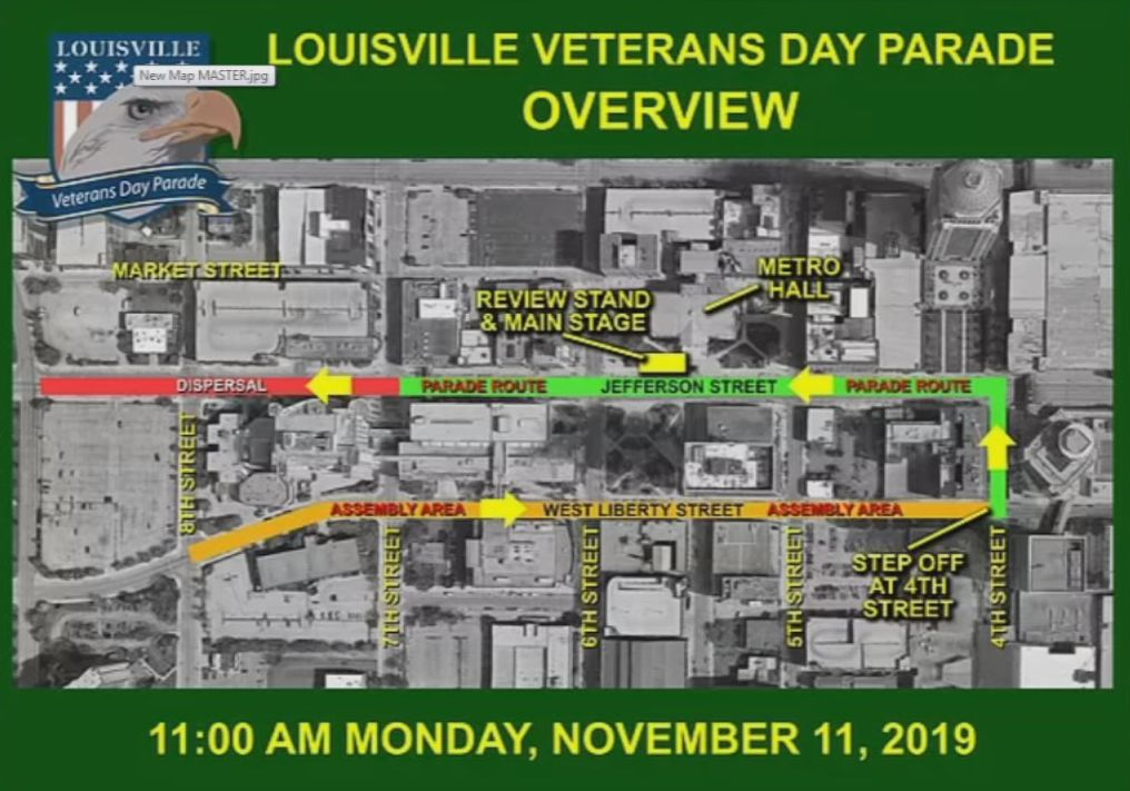 2019 Veterans Day Parade Overview