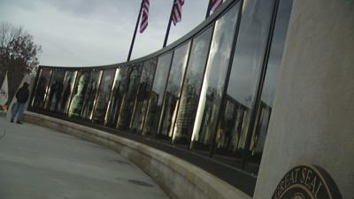 Jeffersontown's new Freedom Wall unveiled on Veterans Day