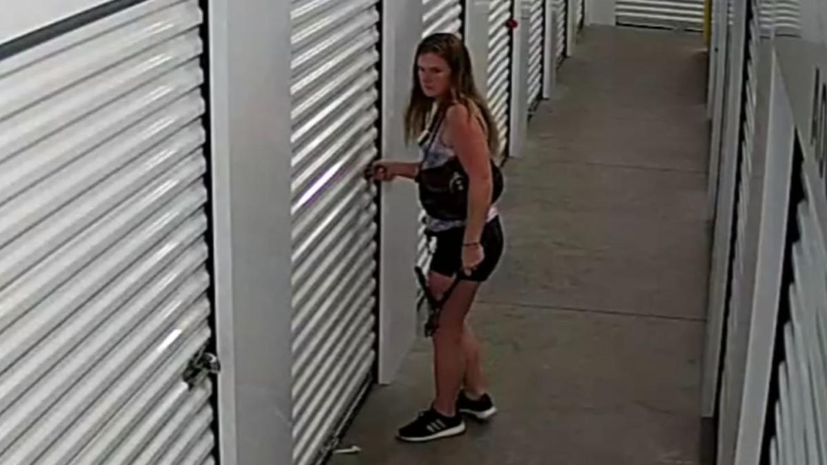 Clark Co. suspect opens storage unit
