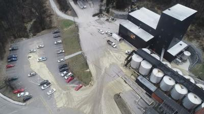 Cleanup underway after tank collapse at Barton 1792 Distillery in Bardstown