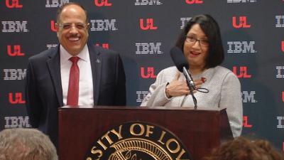 Bendapudi and IBM executive 4-17-19