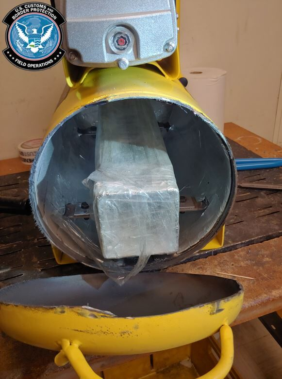 CUSTOMS SEIZURE Air compressor with seal.JPG