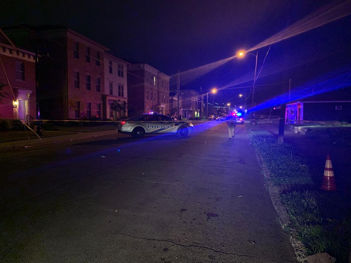 Roselane Street fatal shooting scene
